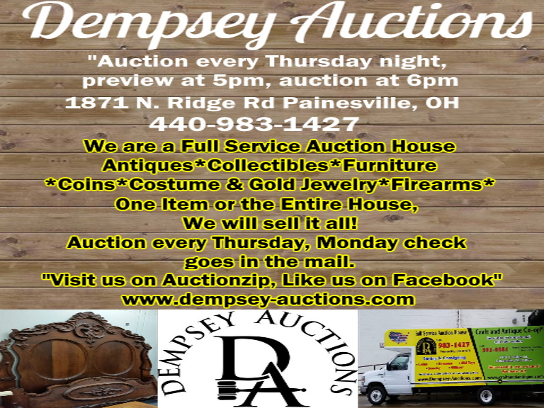 auctions lake county oh