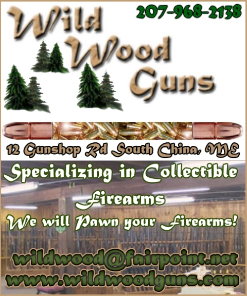 collectiable firearms kennebec county ma