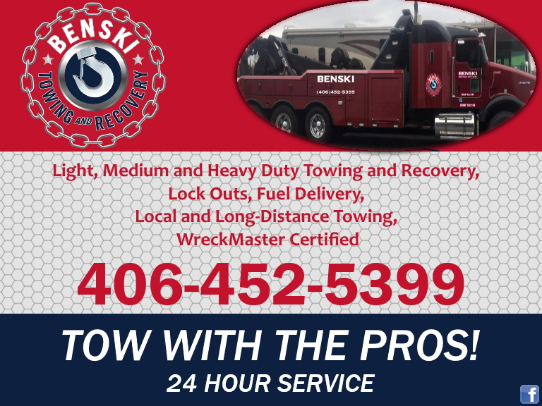 towing & recovery cascade county mt