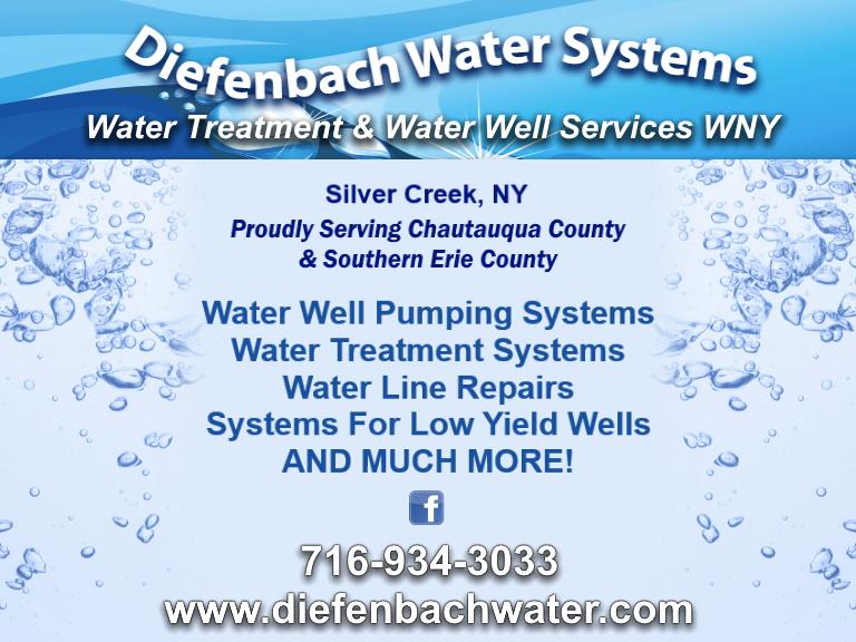 water systems, chautauqua county, ny