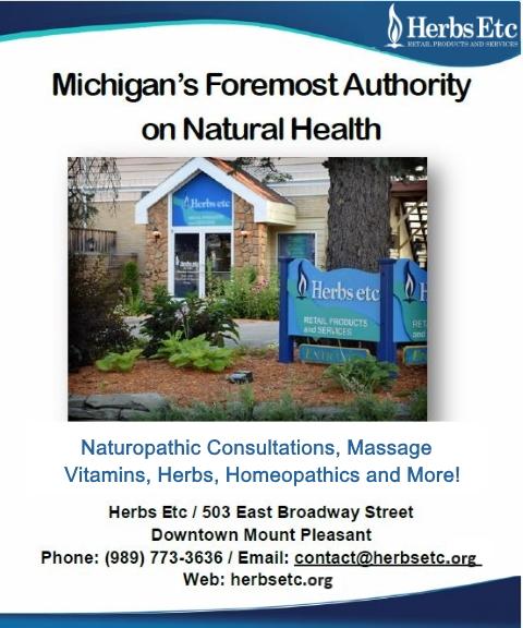 natural health, isabella county, mi