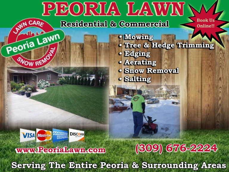 lawncare, peoria county, il