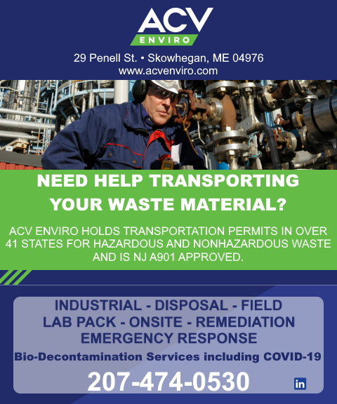 waste material, covid-19 somerset county me