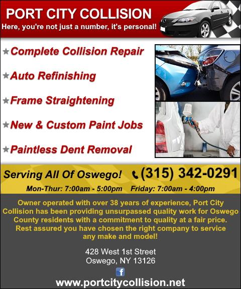 auto repair, oswego county ny
