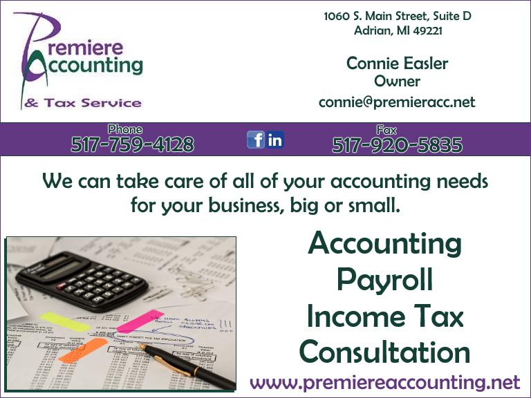 accounting, lenawee county, mi