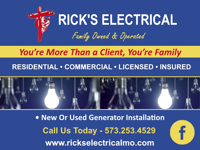 electrician, audrain county mo