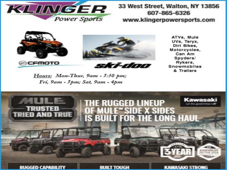 atvs, motorcycles, power sports, delaware county,ny
