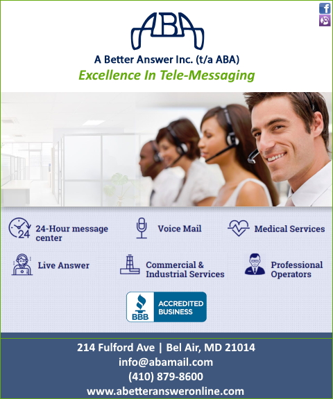 answering service, harford county, md