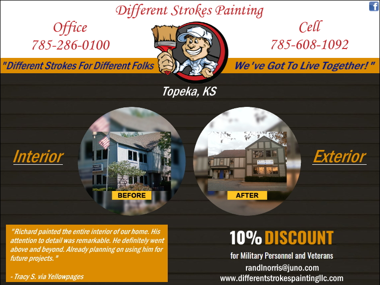 painters, contractors, shawnee county, ks