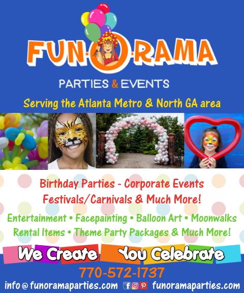 kids parties, dekalb county, ga