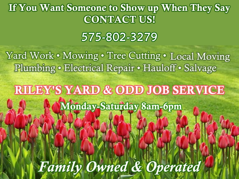landscaping, handyman, lincoln county, nm