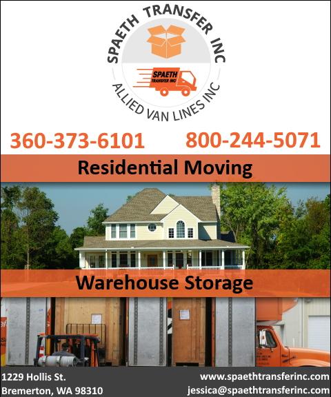 moving & storage, KITSAP PENINSULA, wa