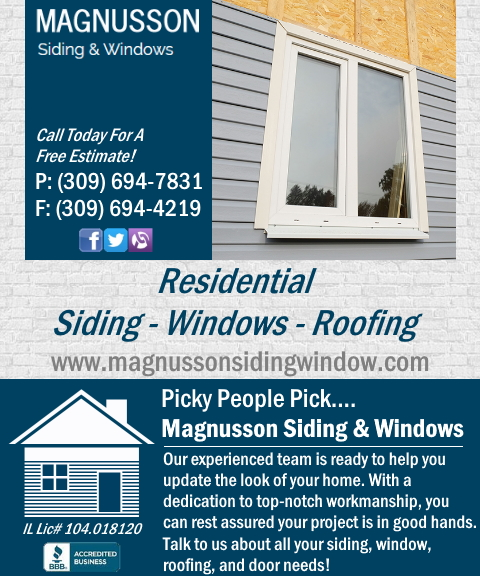 siding & windows, peoria county, il