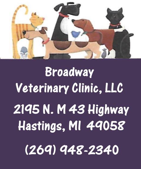 veterinary clinic, barry county, mi