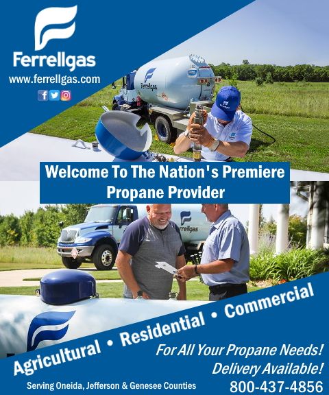 ferrell gas, oneida county, ny