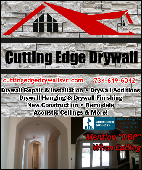 cutting edge drywall, washtenaw county, mi