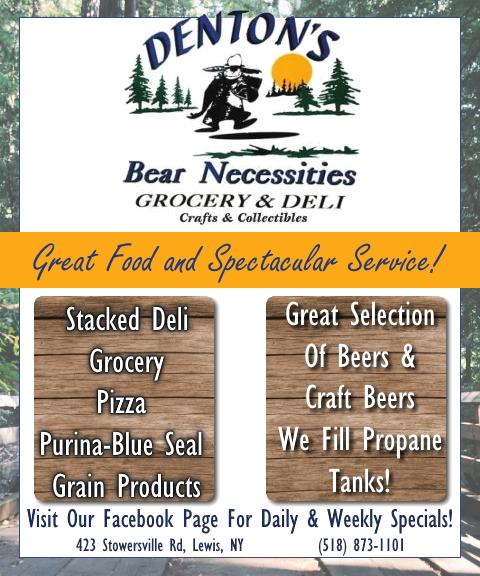 denton bear necessities, essex county, ny