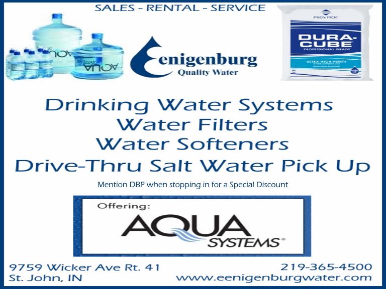 eenigenburg quality water, lake county, in
