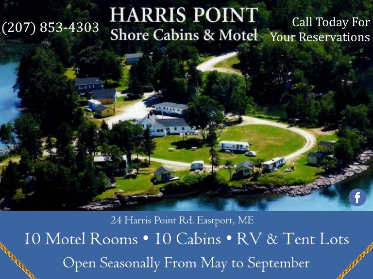 harris point cabins, washington county, me