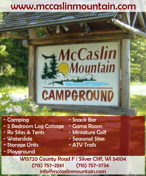 mccaslin mountain campground, marinette county,wi