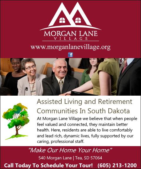 morgan lane village, lincoln county, sd