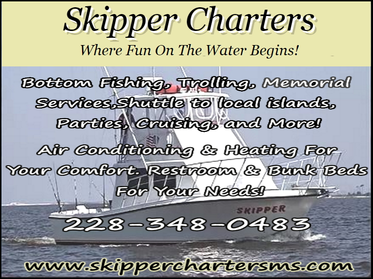 SKIPPER CHARTERS, HARRISON COUNTY, MS