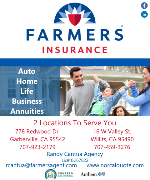 farmers insurance, humboldt county,ca