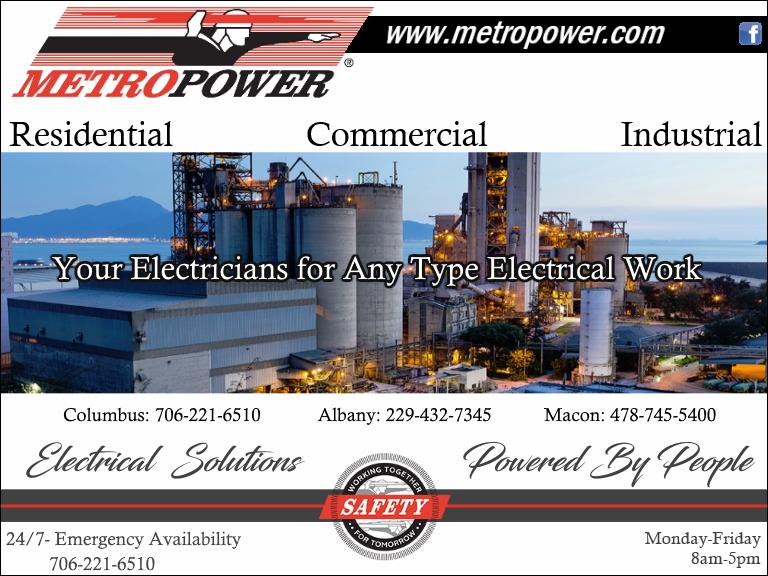 METRO POWER, houston county, ga