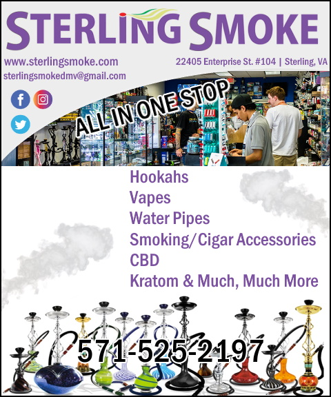 sterling smoke, loundon county, va