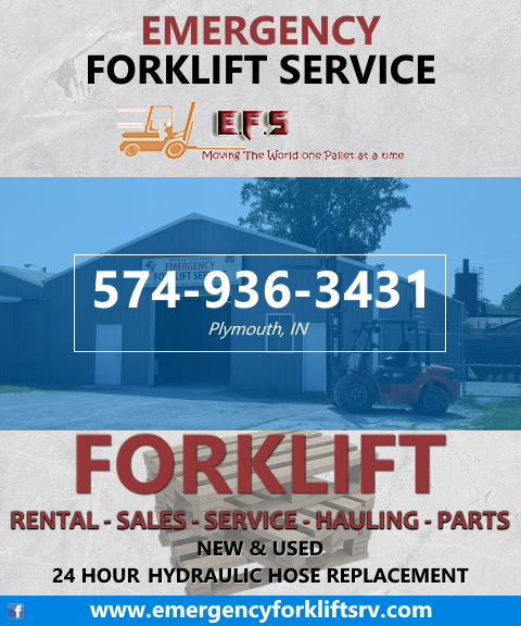 emergency forklift, marshall county, in