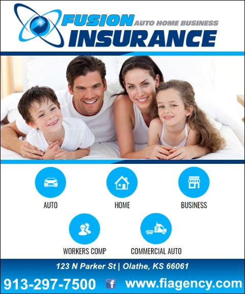 fusion insurance agency, jonson county, ks