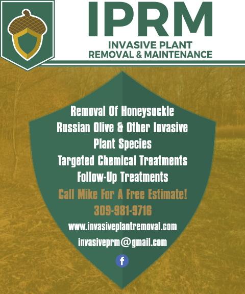 INVASIVE PLANT REMOVAL, FULTON COUNTY, IL