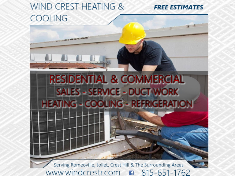windcrest heating & cooling, will county, il