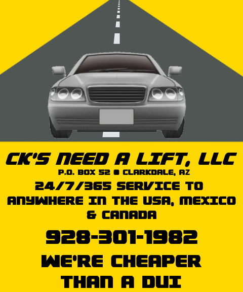 cks need a lift, yavapai county, az