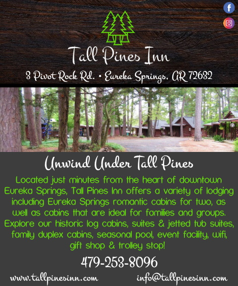tall pines inn, carroll county, ar