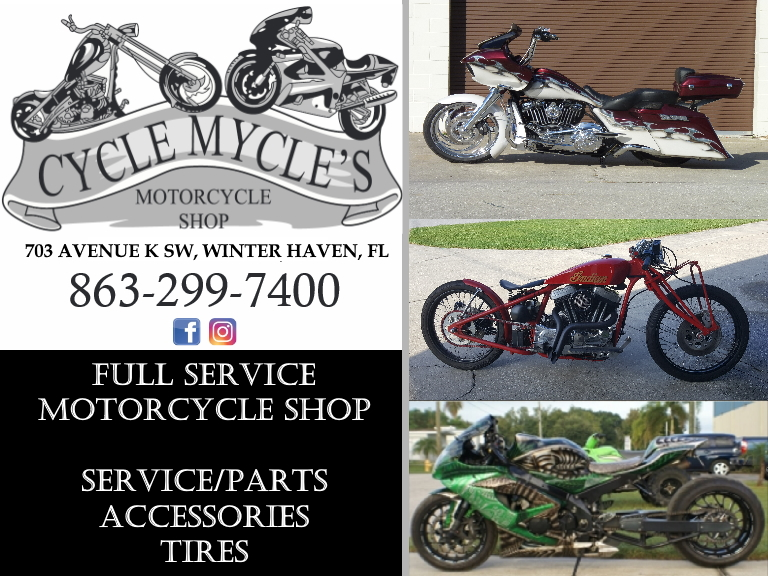cycle mycle motorcycles, polk county, fl