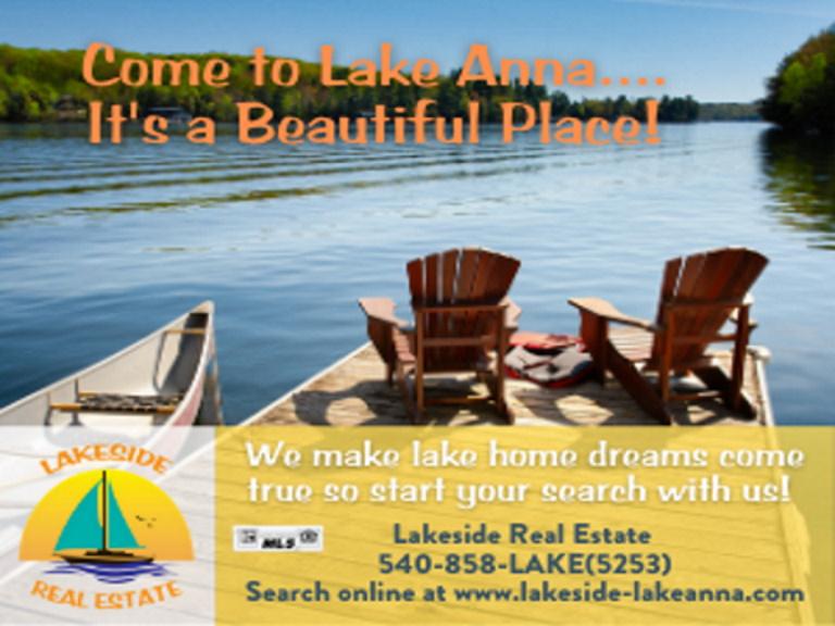 lakeside real estate, louisa county, va