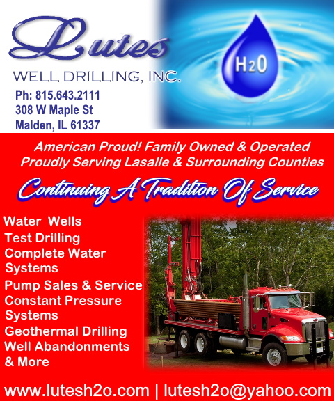 lutes well drilling, lasalle county, il