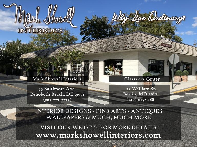 mark showell interiors, sussex county, de