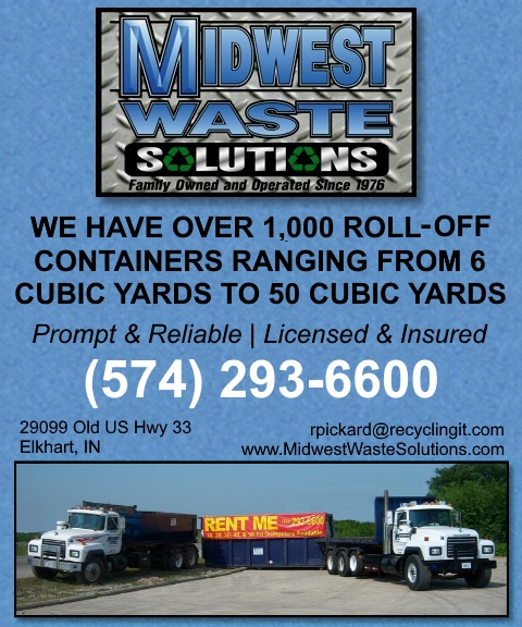 midwest waste solutions, elkhart county, in