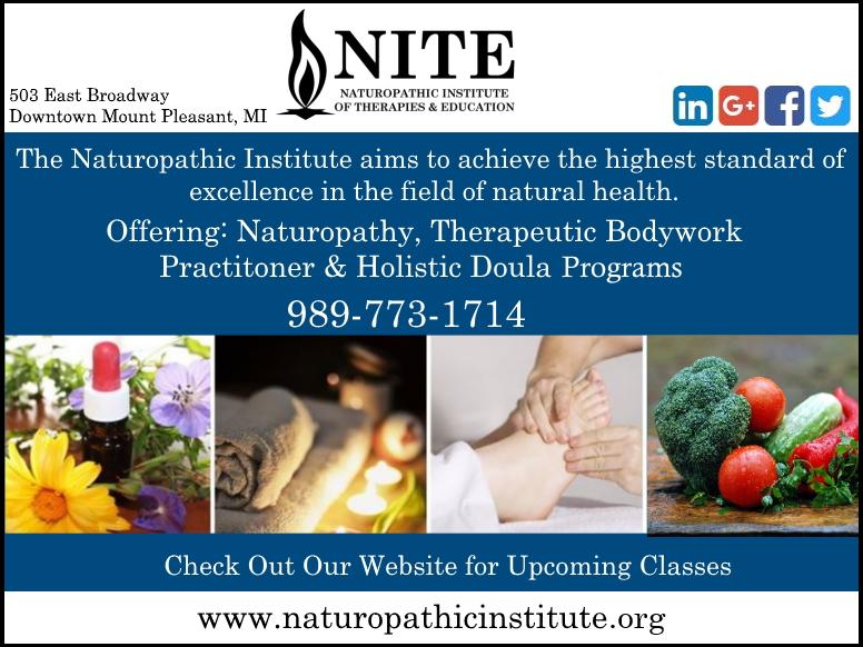 naturopathic institute, isabella county, mi
