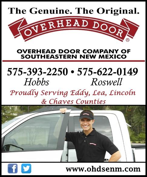 overhead door, lea county, nm