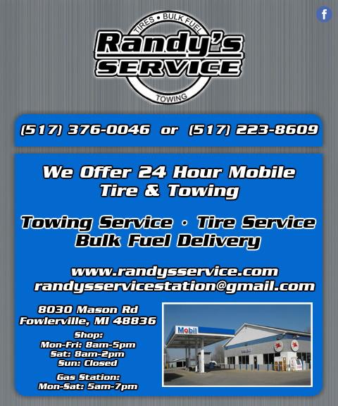 randy service station, livingston county, mi