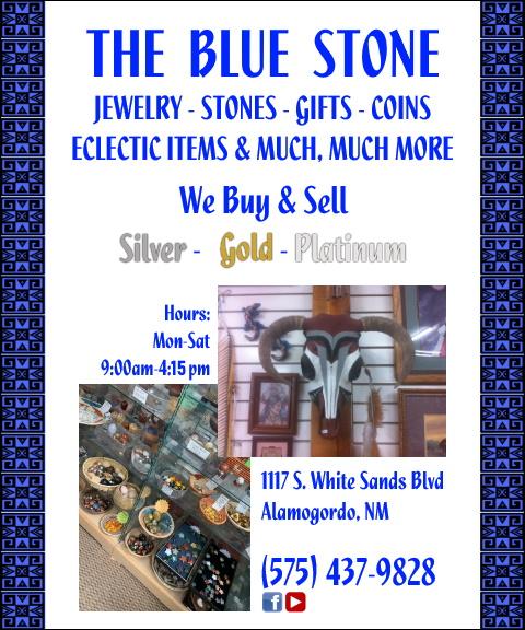 the blue stone, otero county, nm