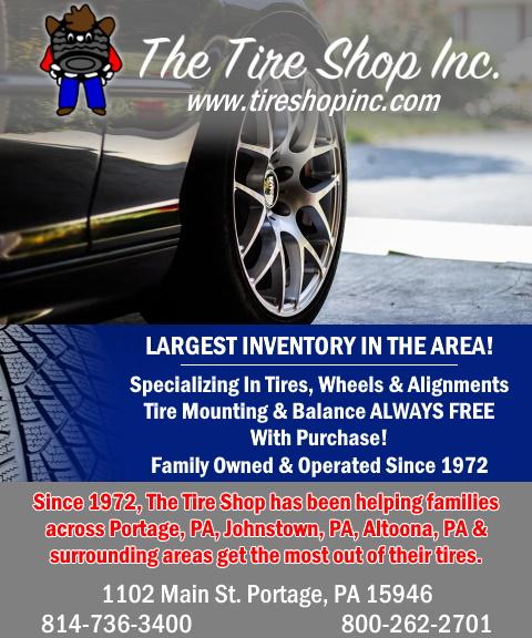 the tire shop, cambria county, pa