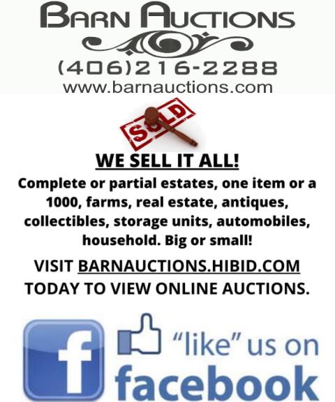 barn auctions, cascade county, mt