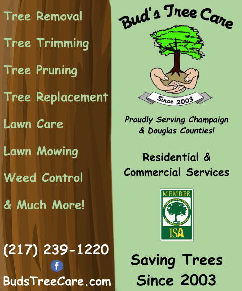 buds tree care, champaign county, il