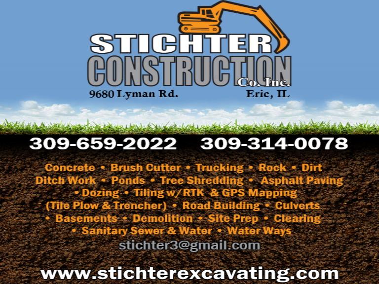 sticher construction, rock island county, il