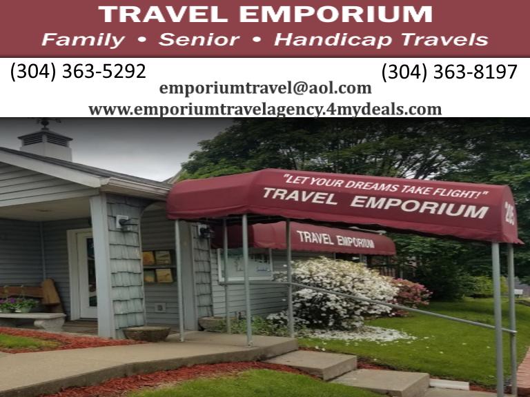 travel emporium, marion county, wv