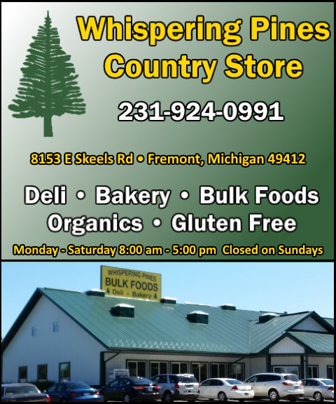 whispering pines country store, newaygo, mi